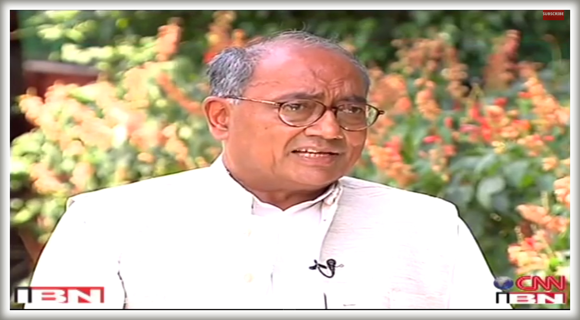 7 May 2014 Ghoshanapatra with Digvijay Singh