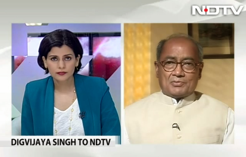 NDTV | Rahul Gandhi doesn't hanker for power, he could have been PM - Digvijaya Singh