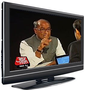 Seedi Baat | Aaj Tak TV| 13 May 2013 | Digvijaya Singh has said the apex court cannot get away by just making stinging observations.