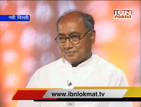 Digvijay Singh Exclusive Interview to IBN Lokmat
