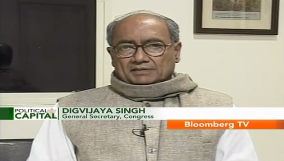 Digvijaya Singh shares the Congress' economic agenda in this exclusive conversation with Vivek Law of Bloomberg TV